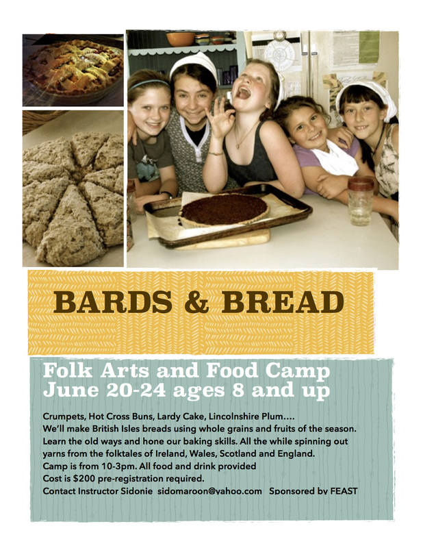 Bards and Bread Camp