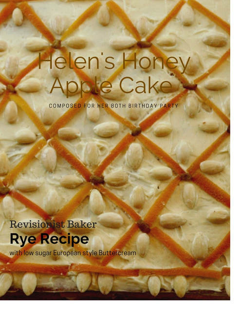 Helen's honey apple cake